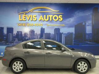 Used 2008 Mazda MAZDA3 MANUEL AIR CLIMATISÉ SEULEMENT 108 300 K for sale in Lévis, QC