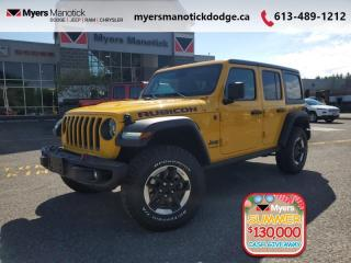 New 2020 Jeep Wrangler Unlimited Rubicon  - Dana Axles - $348 B/W for sale in Ottawa, ON