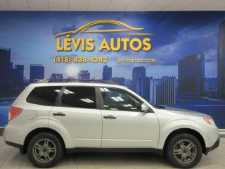 Used 2011 Subaru Forester 2.5X AWD AUTOMATIQUE BLUETOOTH BANC CHAU for sale in Lévis, QC