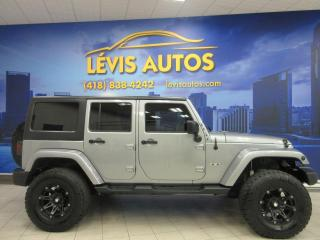 Used 2016 Jeep Wrangler UNLIMITED SAHARA 4X4 63800 KM AIR CLIMAT for sale in Lévis, QC