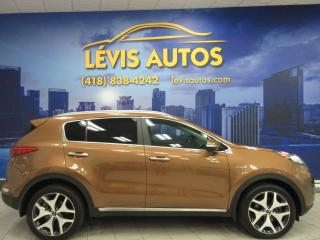 Used 2017 Kia Sportage SX TURBO AWD CUIR TOIT PANORAMIQUE 24 80 for sale in Lévis, QC