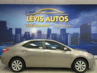 Used 2016 Toyota Corolla LE AUTOMATIQUE 68300 KM BLUETOOTH CAMERA for sale in Lévis, QC