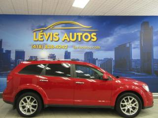 Used 2014 Dodge Journey R/T AWD 104 000 KM CUIR AIR CLIMATISE BL for sale in Lévis, QC