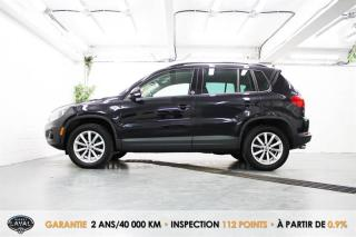Used 2017 Volkswagen Tiguan 4MOTION Wolfsburg Edition + Caméra + Keyless for sale in Québec, QC