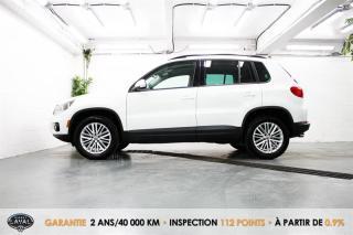 Used 2016 Volkswagen Tiguan Reservé SE Spécial Édition + GPS + Caméra for sale in Québec, QC