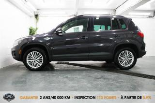Used 2016 Volkswagen Tiguan 4MOTION SE + Caméra + Bluetooth + Keyless for sale in Québec, QC