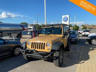 Used 2014 Jeep Wrangler 4WD  Rubicon + OFF ROAD for sale in Québec, QC