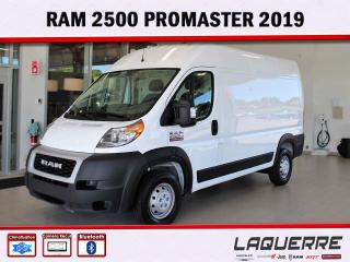 Used 2019 RAM ProMaster 2500 for sale in Victoriaville, QC