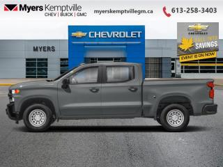 New 2020 Chevrolet Silverado 1500 Work Truck for sale in Kemptville, ON