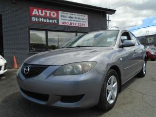 Used 2004 Mazda MAZDA3 GS for sale in St-Hubert, QC
