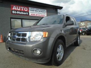 Used 2009 Ford Escape XLT for sale in St-Hubert, QC