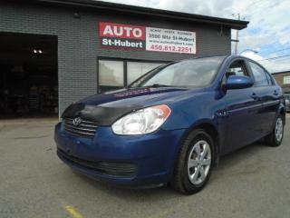 Used 2008 Hyundai Accent GL for sale in St-Hubert, QC