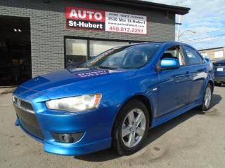 Used 2009 Mitsubishi Lancer SE for sale in St-Hubert, QC