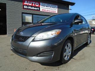 Used 2010 Toyota Matrix for sale in St-Hubert, QC