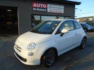 Used 2012 Fiat 500 Pop for sale in St-Hubert, QC
