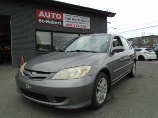 Used 2005 Honda Civic LX-G for sale in St-Hubert, QC