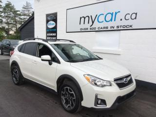 Used 2017 Subaru XV Crosstrek Touring SUNROOF, HEATED SEATS, BACKUP CAM, ALLOYS!! for sale in Richmond, ON