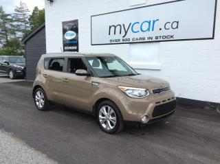 Used 2016 Kia Soul EX+ HEATED SEATS, ALLOYS, BACKUP CAM!! for sale in Richmond, ON
