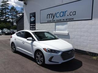 Used 2017 Hyundai Elantra GLS SUNROOF, HEATED SEATS, ALLOYS, BACKUP CAM!! for sale in Richmond, ON