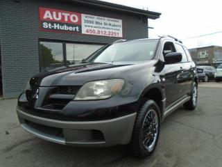 Used 2003 Mitsubishi Outlander LS AWD for sale in St-Hubert, QC
