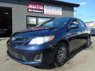 Used 2011 Toyota Corolla CE for sale in St-Hubert, QC