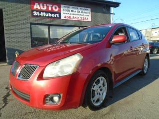 Used 2009 Pontiac Vibe AWD for sale in St-Hubert, QC