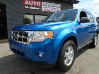 Used 2012 Ford Escape XLT ** FINANCEMENT DISPONIBLE ** for sale in St-Hubert, QC