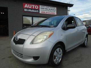 Used 2007 Toyota Yaris for sale in St-Hubert, QC