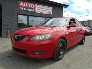 Used 2006 Mazda MAZDA3 GS for sale in St-Hubert, QC