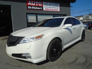 Used 2009 Acura TL 3.7 L SH-AWD + CAMERA + TOIT + CUIR for sale in St-Hubert, QC