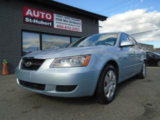 Used 2008 Hyundai Sonata GL for sale in St-Hubert, QC