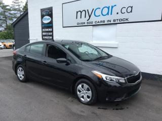 Used 2017 Kia Forte LX POWERGROUP, A/C!! for sale in North Bay, ON