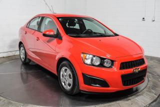 Used 2015 Chevrolet Sonic LS for sale in Île-Perrot, QC