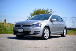 Used 2015 Volkswagen Golf 2.0 TDI Highline *LEATHER* *DIESEL* *SUNROOF* *DSG* *HEATED SEATS* for sale in Surrey, BC