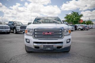 Used 2016 GMC Canyon SLT LEATHER/CHROME STEPS/REAR CAMERA for sale in Concord, ON