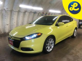 Used 2013 Dodge Dart Rallye * 1.4 turbo * GPS Navigation  * Power sunroof * Remote start * Uconnect Touch 8.4 CD/DVD/MP3 * 6-Spd C635 Dual Dry Clutch Auto * Uconnect Voice for sale in Cambridge, ON