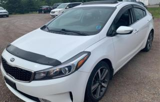 Used 2017 Kia Forte EX A/C CUIR TOIT CAMERA DE RECUL for sale in Île-Perrot, QC