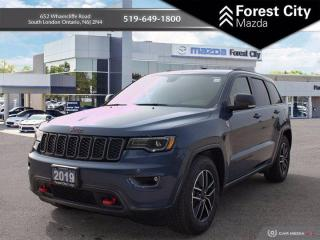 Used 2019 Jeep Grand Cherokee DEMO | KEYLESS ENTRY | NAVIGATION | BLIND SPOT SENSOR | REAR VIEW CAM for sale in London, ON