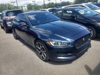 Used 2017 Jaguar XE R-SPORT AWD 3.0T CUIR TOIT MAGS NAV for sale in Île-Perrot, QC