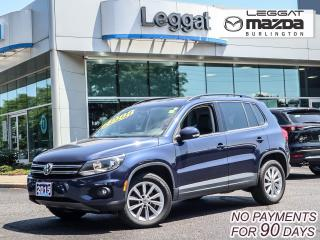 Used 2015 Volkswagen Tiguan COMFORTLINE for sale in Burlington, ON
