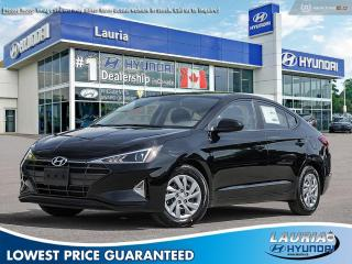 New 2020 Hyundai Elantra Essential Manual for sale in Port Hope, ON