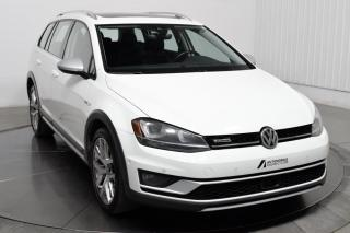 Used 2017 Volkswagen Golf ALLTRACK 4 MOTION  CUIR NAV TOIT PANO for sale in St-Hubert, QC