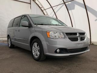 Used 2015 Dodge Grand Caravan Crew BLUETOOTH STREAMING AUDIO, REVERSE CAMERA, HEATED FRONT SEATS, 6.5 TOUCHSCREEN for sale in Ottawa, ON