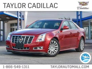Used 2013 Cadillac CTS Sedan Performance for sale in Kingston, ON