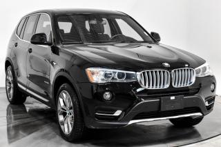 Used 2016 BMW X3 2,8I AWD CUIR TOIT NAV for sale in Île-Perrot, QC