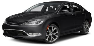 Used 2015 Chrysler 200 200 C - ONE OWNER - GREAT SERVICE HISTORY for sale in Stouffville, ON