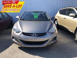 Used 2012 Hyundai Elantra GL AS-IS - ONE OWNER - NO ACCIDENTS for sale in Stouffville, ON