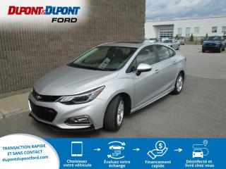 Used 2018 Chevrolet Cruze LT 1.4L berline 4 portes avec 1SD for sale in Gatineau, QC