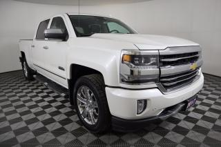 Used 2017 Chevrolet Silverado 1500 High Country CLEAN CARPROOF! 5.3L V8, 4X4, LEATHER, NAVIGATION for sale in Huntsville, ON