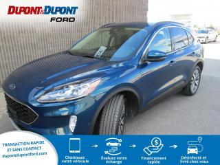 Used 2020 Ford Escape Titanium TI for sale in Gatineau, QC